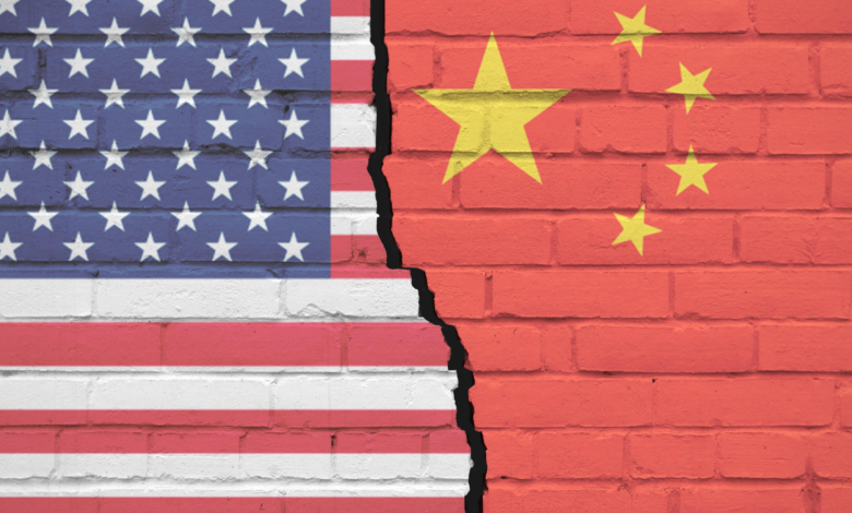 US dependence on China
