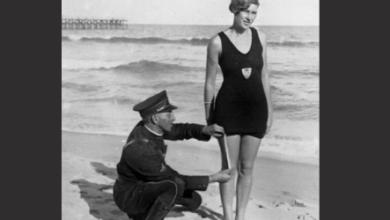 "Photo of آمریکا و قانون ""پوشش مناسب در ساحل""در سال ۱۹۲۲"