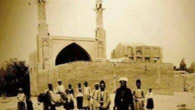 Photo of منارجنبان اصفهان در یکصد سال پیش