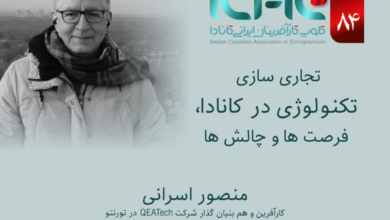Photo of هشتاد و چهارمین وبینار کلوپ کارآفرینان ایرانی کانادا